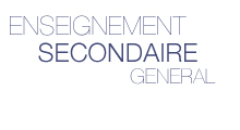 Enseignement Secondaire g�n�ral